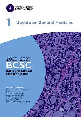 Portada del libro 9781681043579 Update on General Medicine. Basic and Clinical Science Course 2020-2021, Section 1