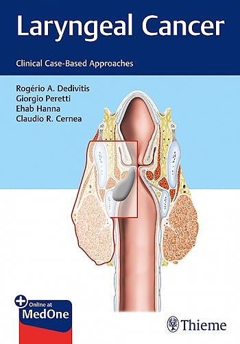 Portada del libro 9781684200016 Laryngeal Cancer. Clinical Case-Based Approaches