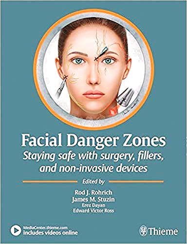 Portada del libro 9781684200030 Facial Danger Zones. Staying Safe with Surgery, Fillers, and Non-Invasive Devices