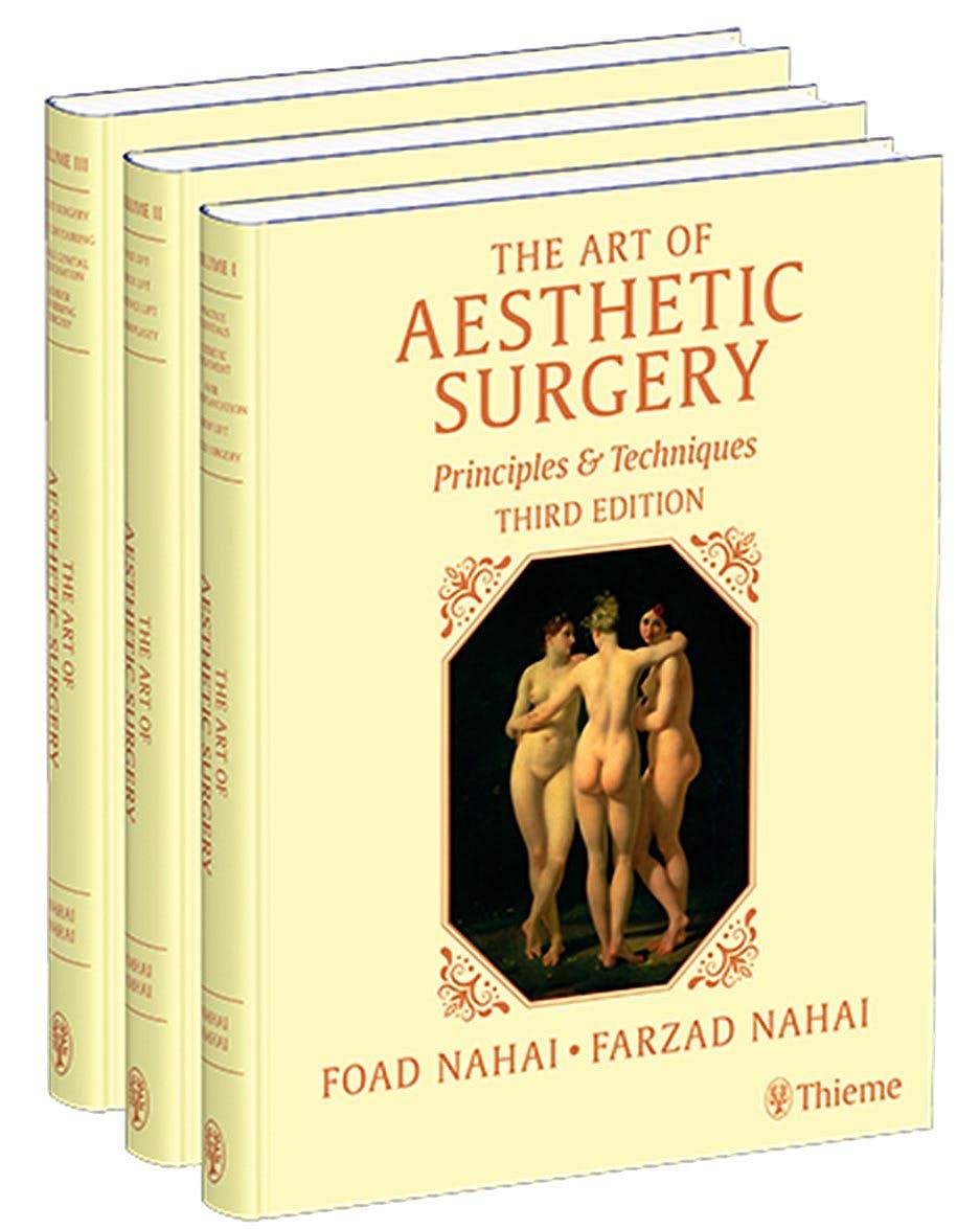 Portada del libro 9781684200344 The Art of Aesthetic Surgery. Principles & Techniques (3 Volume Set)