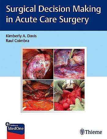 Portada del libro 9781684200580 Surgical Decision Making in Acute Care Surgery