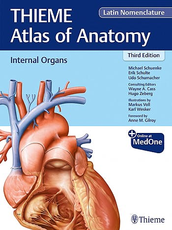 Portada del libro 9781684200825 Internal Organs (THIEME Atlas of Anatomy), Latin Nomenclature