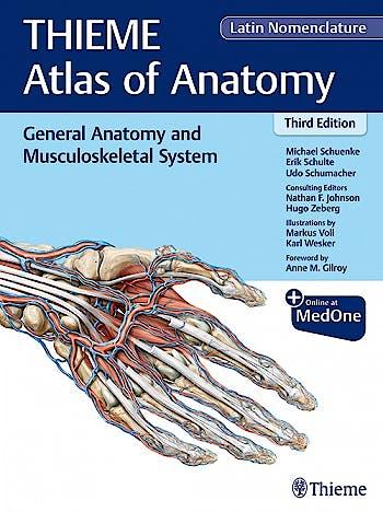 Portada del libro 9781684200849 General Anatomy and Musculoskeletal System (THIEME Atlas of Anatomy), Latin Nomenclature
