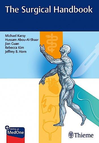 Portada del libro 9781684201280 The Surgical Handbook