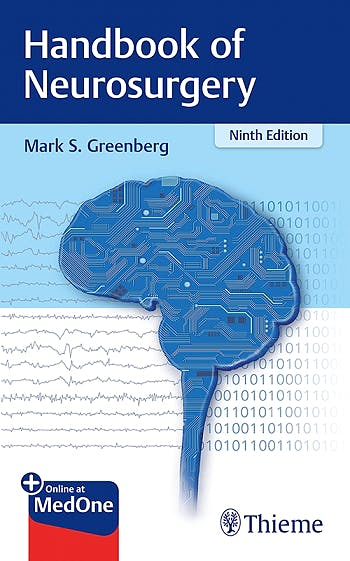 Portada del libro 9781684201372 Handbook of Neurosurgery