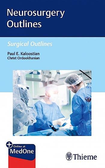 Portada del libro 9781684201426 Neurosurgery Outlines