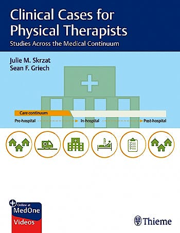 Portada del libro 9781684201877 Clinical Cases for Physical Therapists. Studies Across the Medical Continuum