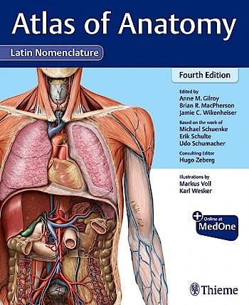 Portada del libro 9781684204519 Atlas of Anatomy. Latin Nomenclature