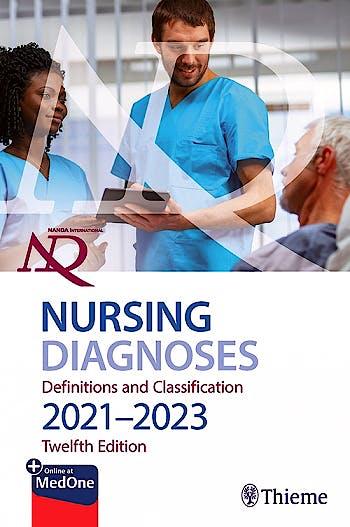 Portada del libro 9781684204540 NANDA International Nursing Diagnoses. Definitions & Classification, 2021-2023