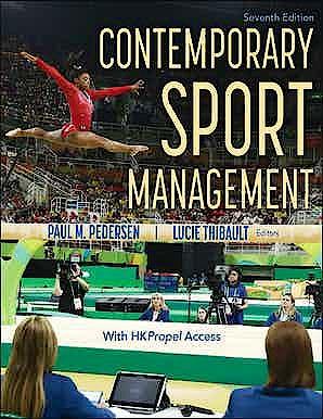 Portada del libro 9781718202993 Contemporary Sport Management