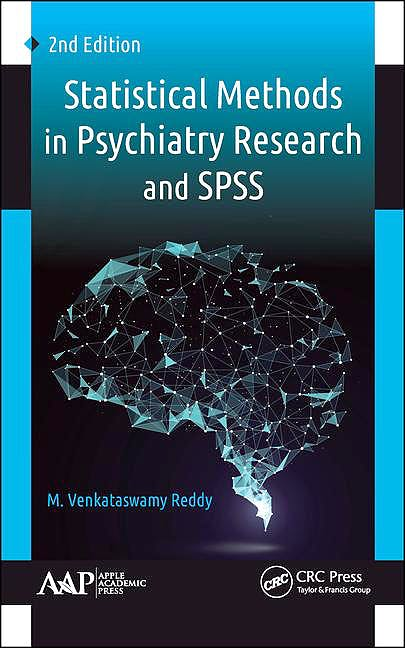Portada del libro 9781771887816 Statistical Methods in Psychiatry Research and SPSS