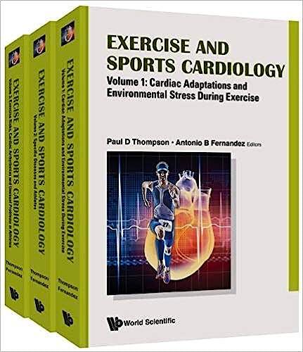Portada del libro 9781786341556 Exercise and Sports Cardiology, 3 Vols.