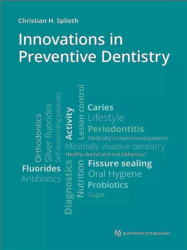 Portada del libro 9781786980991 Innovations in Preventive Dentistry