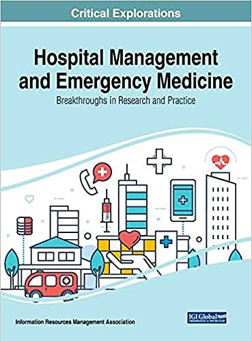 Portada del libro 9781799824510 Hospital Management and Emergency Medicine. Breakthroughs in Research and Practice
