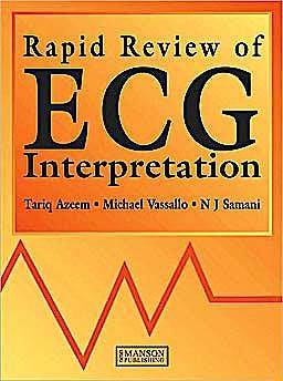 Portada del libro 9781840760439 Rapid Review of Ecg Interpretation