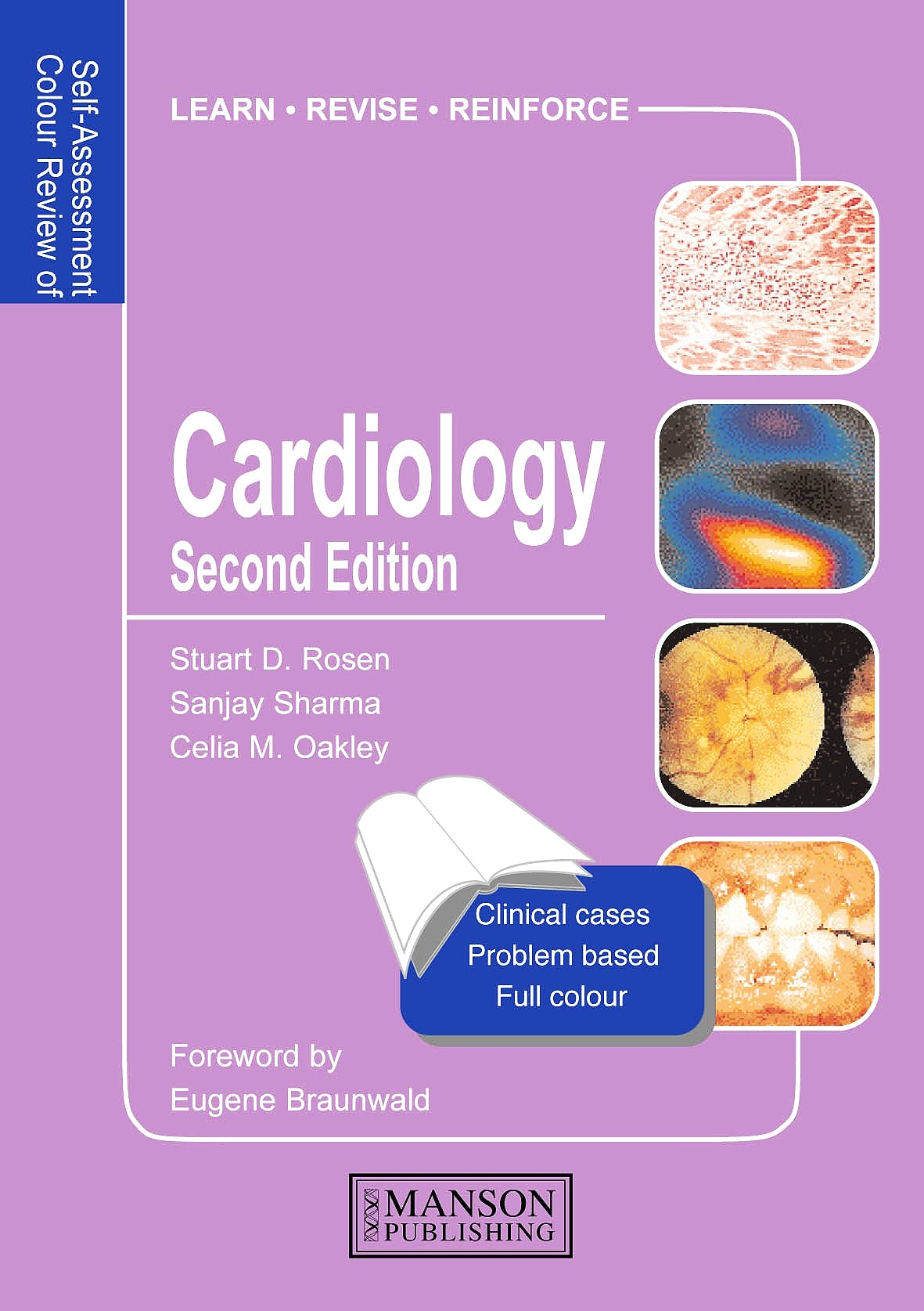 Portada del libro 9781840760538 Cardiology. Self-Assessment Colour Review