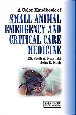 Portada del libro 9781840760736 A Colour Handbook of Small Animal Emergency and Critical Care Medicine