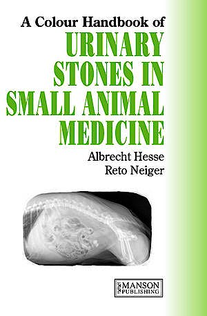Portada del libro 9781840761283 A Colour Handbook of Urinary Stones in Small Animal Medicine