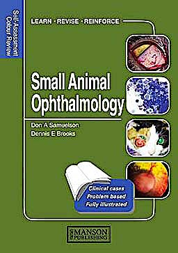 Portada del libro 9781840761450 Small Animal Ophthalmology. Self-Assessment Colour Review