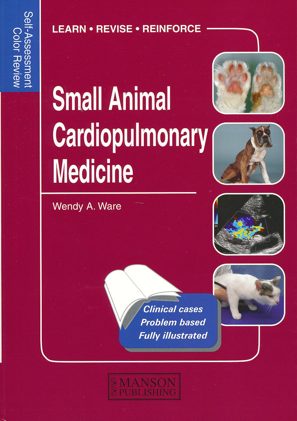 Portada del libro 9781840761641 Small Animal Cardiopulmonary Medicine. Self-Assessment Color Review