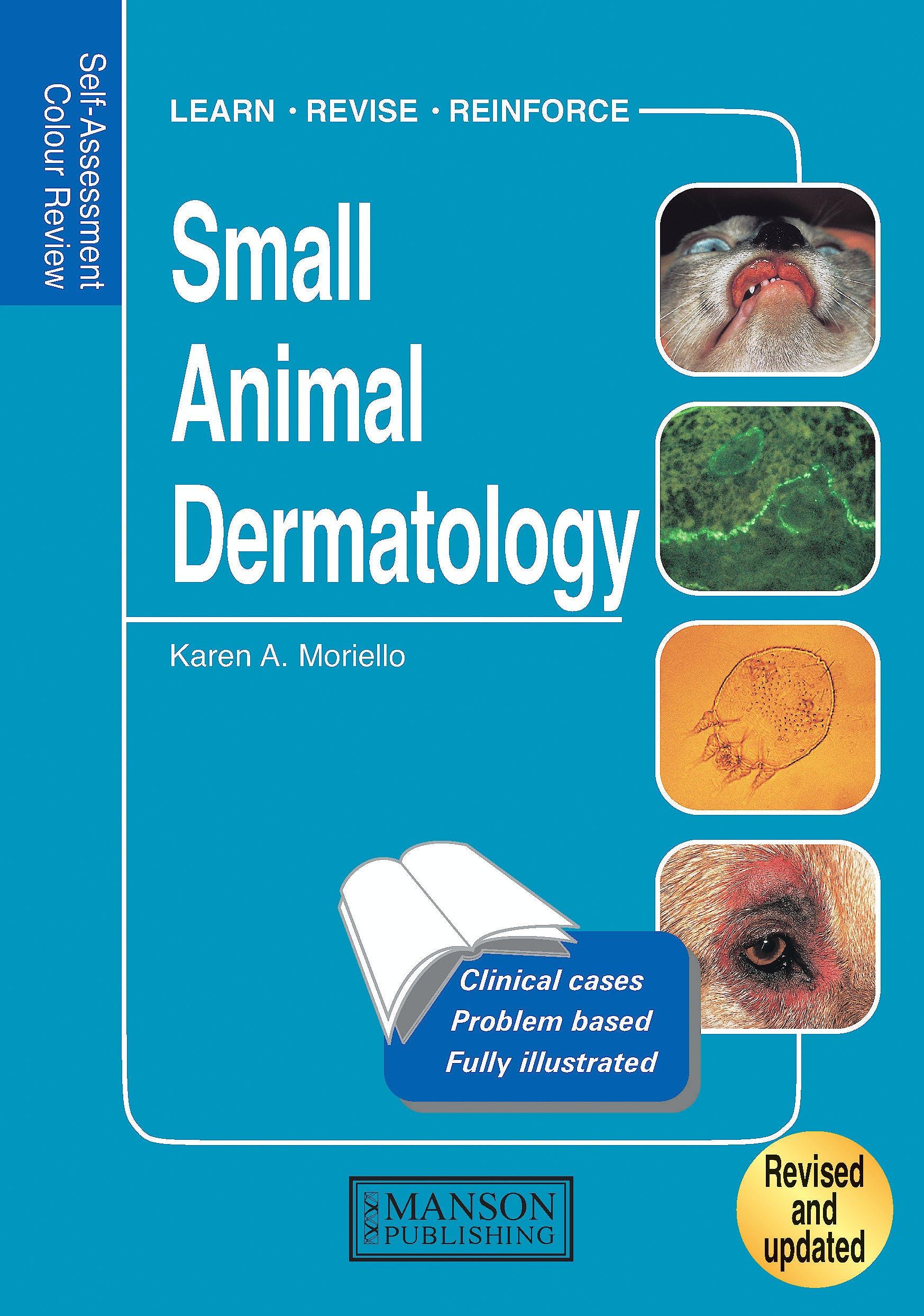 Portada del libro 9781840761689 Small Animal Dermatology. Self Assessment Colour Review
