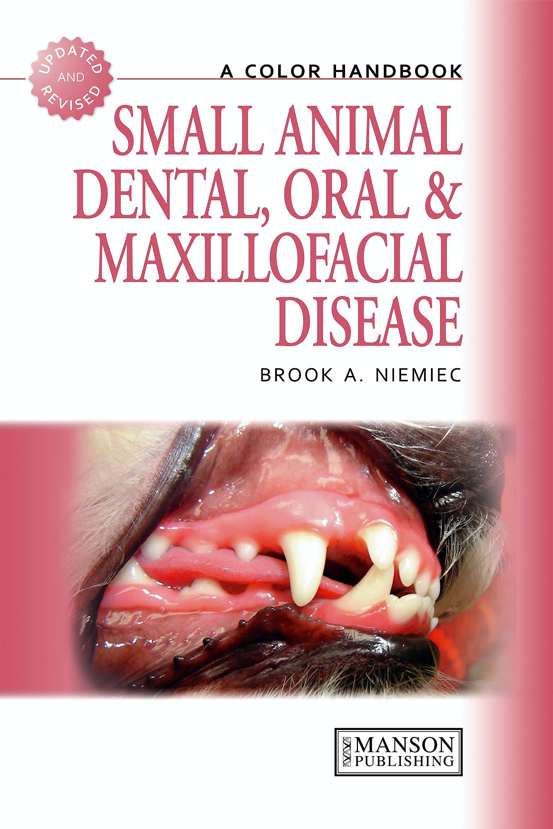 Portada del libro 9781840761726 Small Animal Dental, Oral and Maxillofacial Disease. a Color Handbook (Softcover)