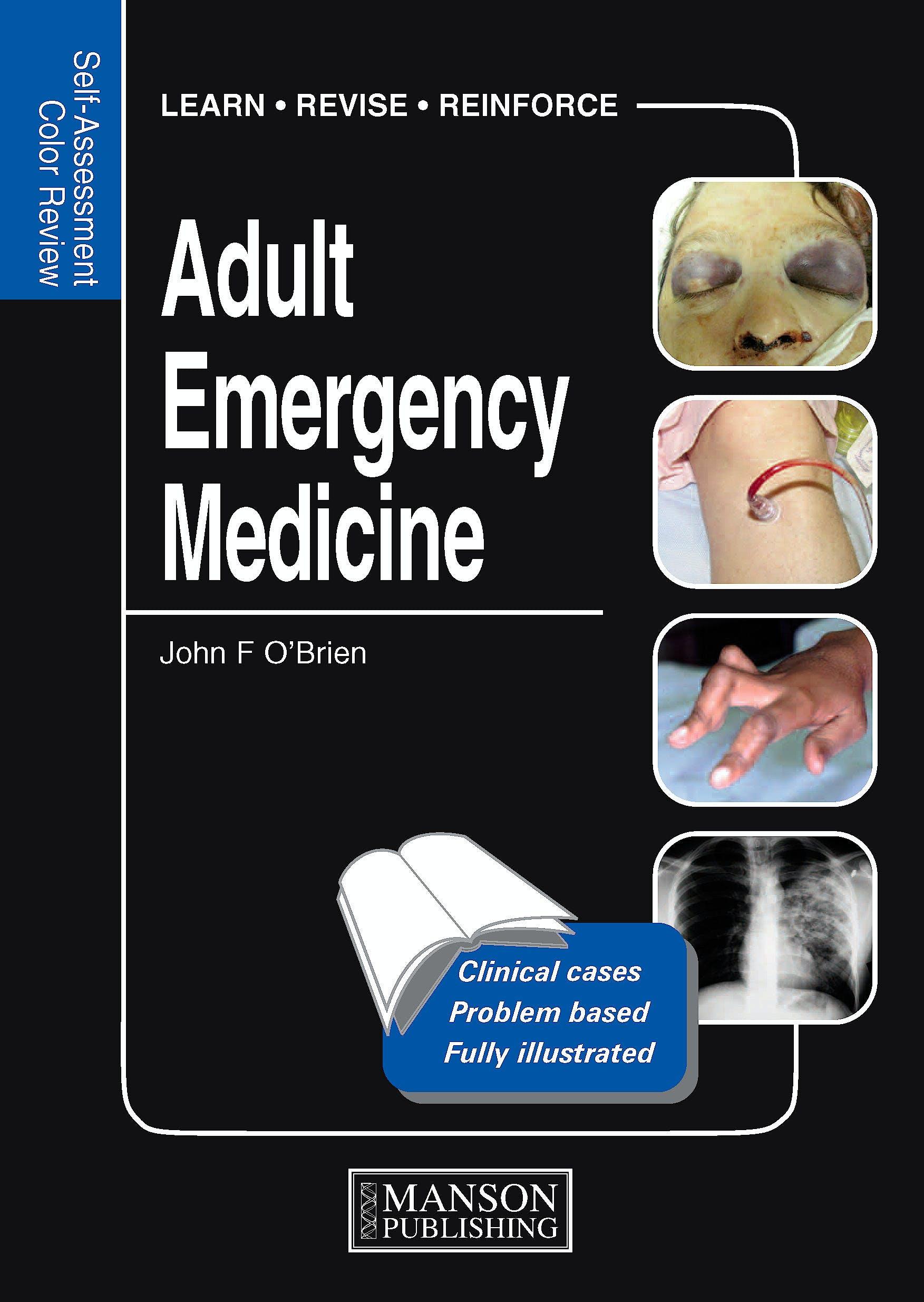 Portada del libro 9781840761788 Adult Emergency Medicine. Self-Assessment Colour Review