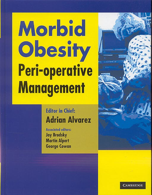 Portada del libro 9781841101880 Morbid Obesity. Peri-Operative Management