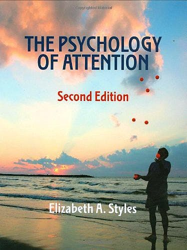 Portada del libro 9781841693965 The Psychology of Attention (Hardcover)