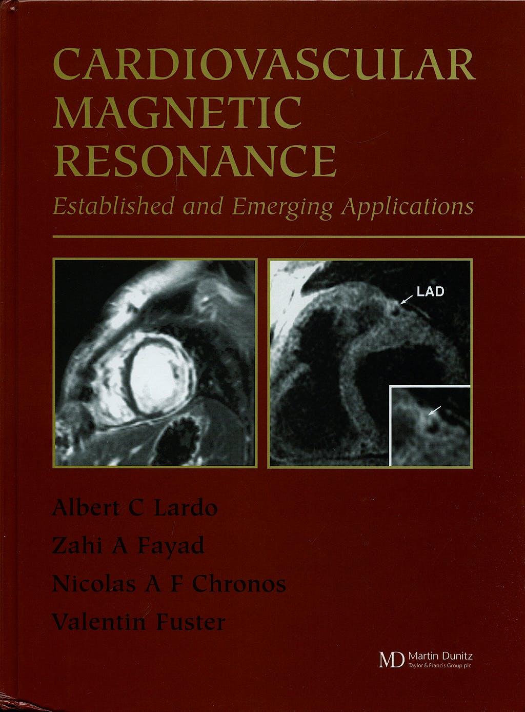 Portada del libro 9781841842028 Cardiovascular Magnetic Resonance