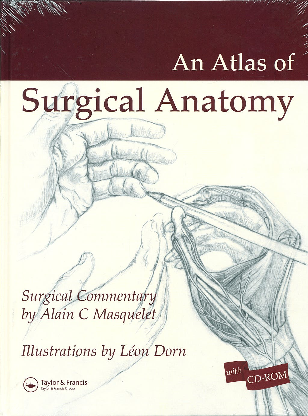 Portada del libro 9781841844053 An Atlas of Surgical Anatomy + Cd-Rom