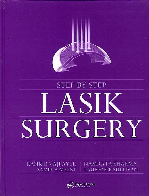 Portada del libro 9781841844695 Step by Step Lasik Surgery