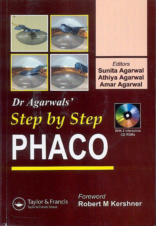 Portada del libro 9781841845494 Dr. Agarwals' Step by Step Phaco