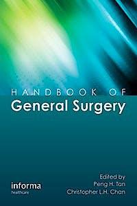 Portada del libro 9781841849454 Handbook of General Surgery
