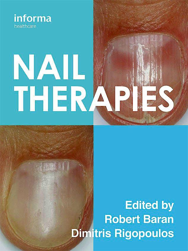 Portada del libro 9781841849843 Nail Therapies