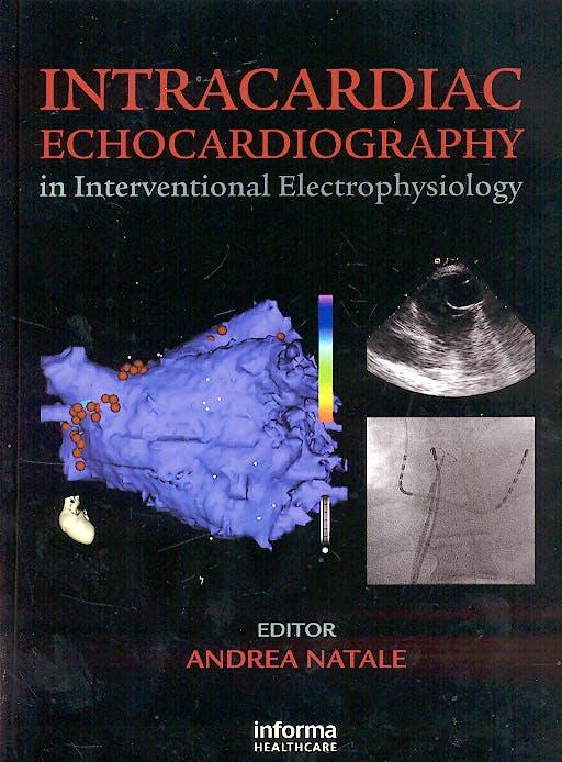 Portada del libro 9781842143100 Intracardiac Echocardiography in Interventional Electrophysiology