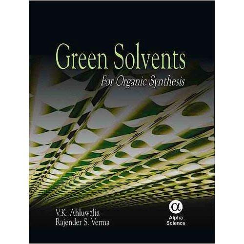 Portada del libro 9781842655207 Green Solvents for Organic Synthesis