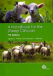 Portada del libro 9781845939748 A Handbook for the Sheep Clinician