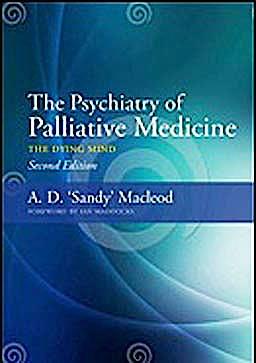 Portada del libro 9781846195358 The Psychiatry of Palliative Medicine. the Dying Mind