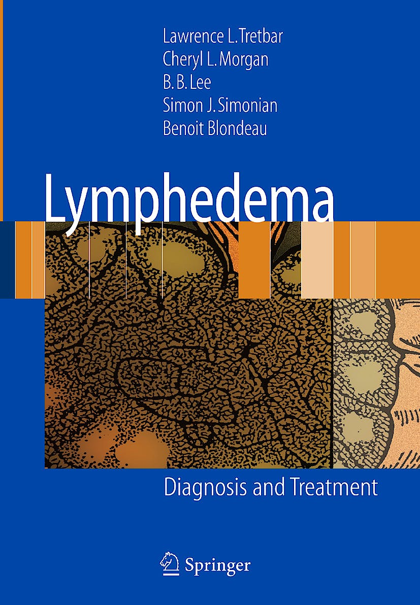 Portada del libro 9781846285486 Lymphedema. Diagnosis and Treatment