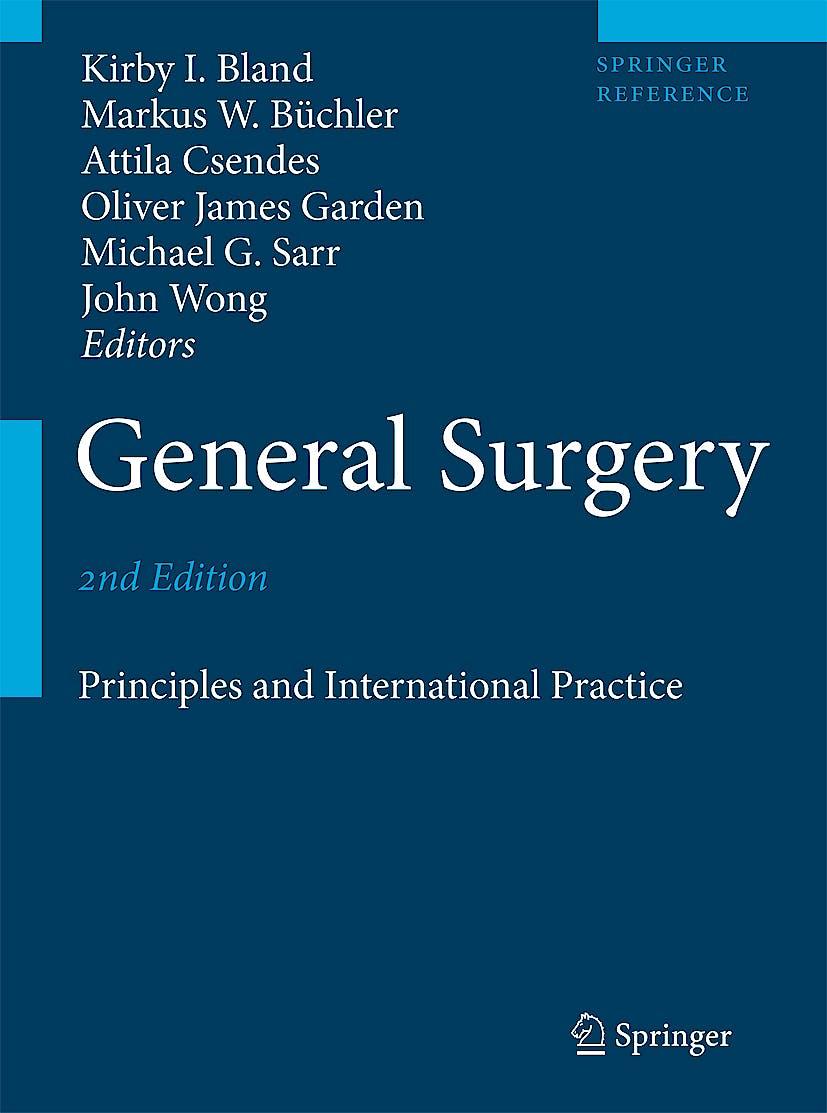 Portada del libro 9781846288326 General Surgery. Principles and International Practice, 2 Vols.