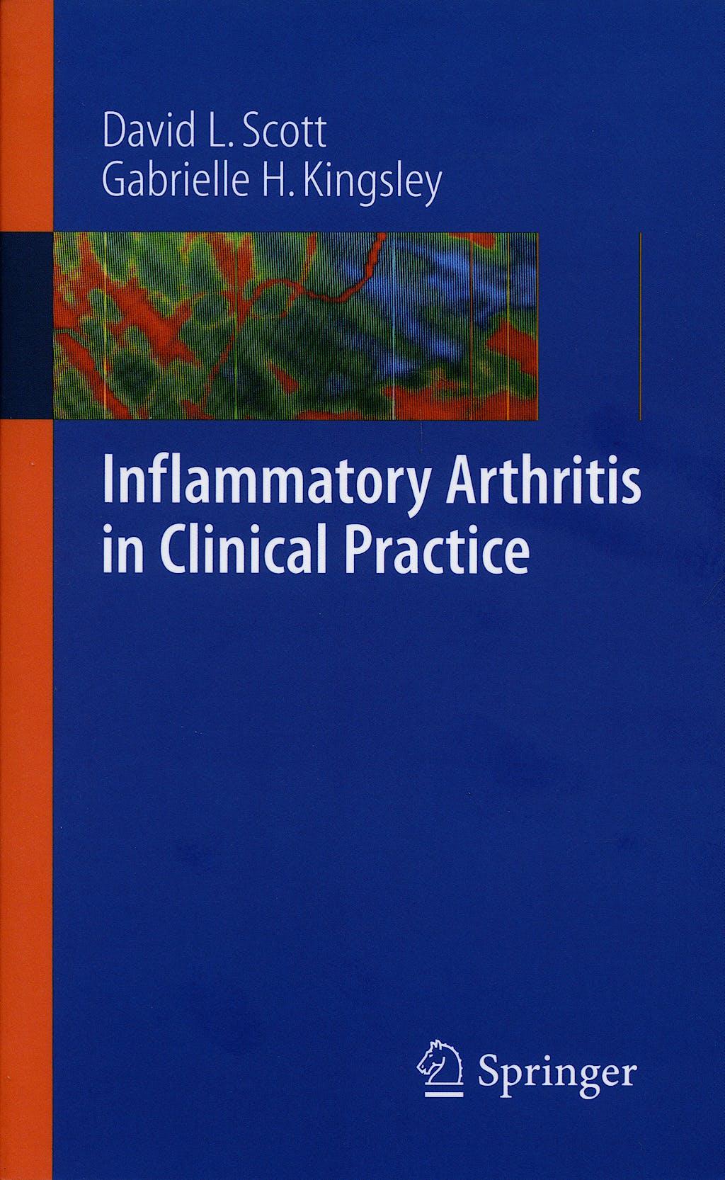 Portada del libro 9781846289323 Inflammatory Arthritis in Clinical Practice