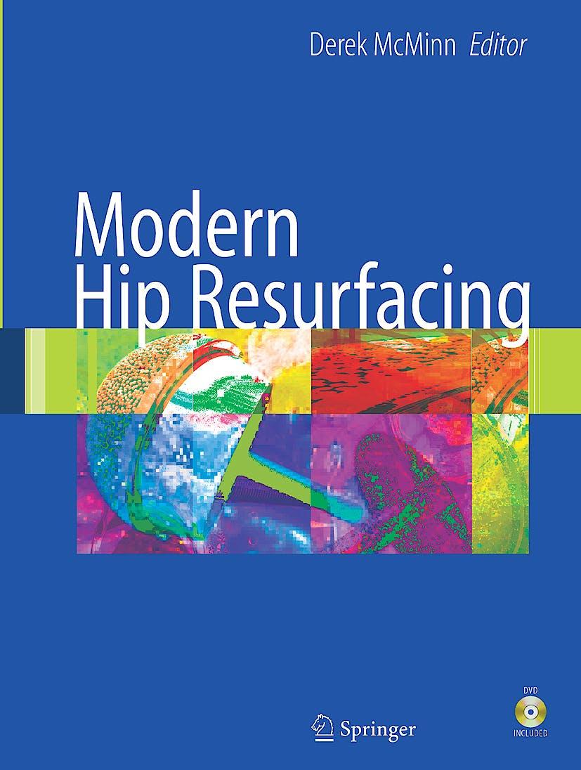 Portada del libro 9781848000872 Modern Hip Resurfacing + Dvd