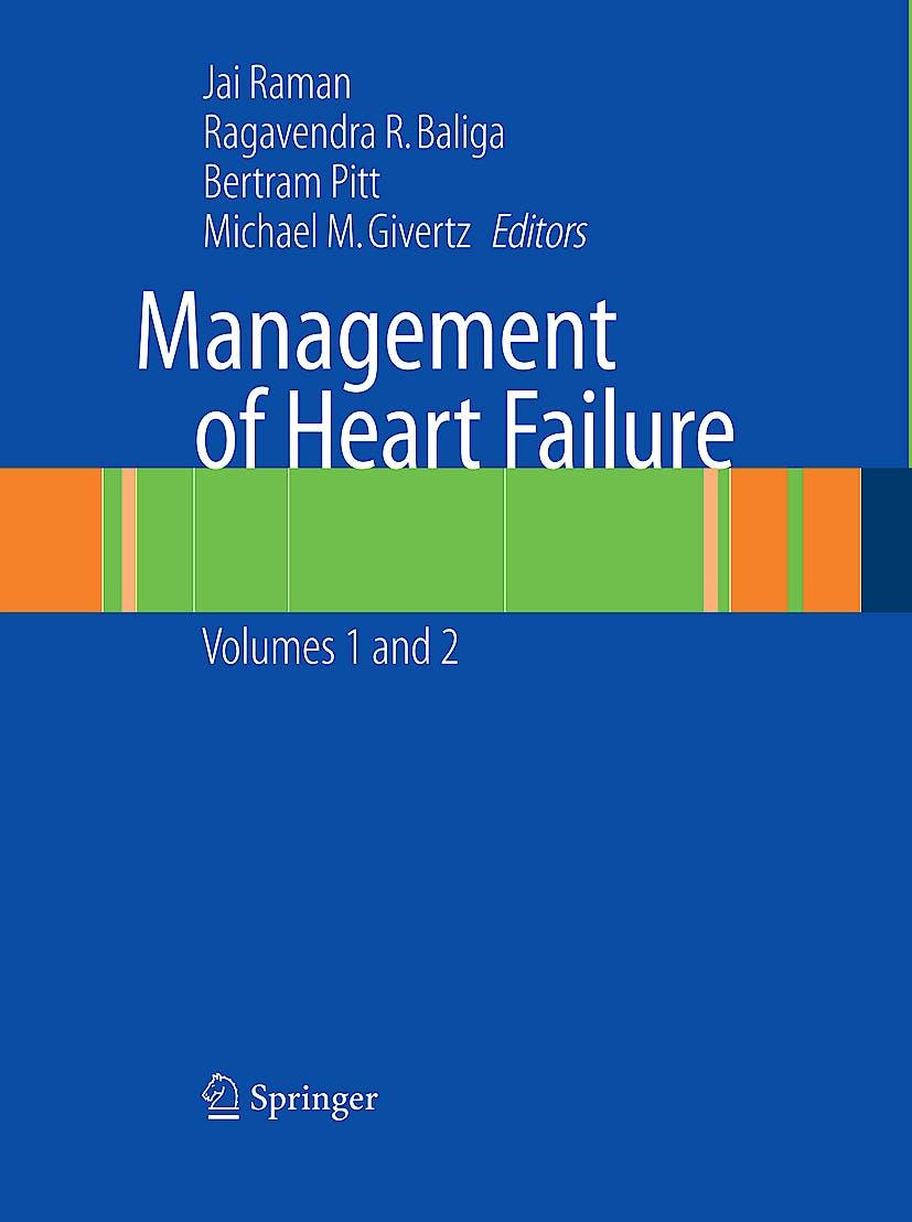 Portada del libro 9781848001053 Management of Heart Failure, 2-Volume-Set
