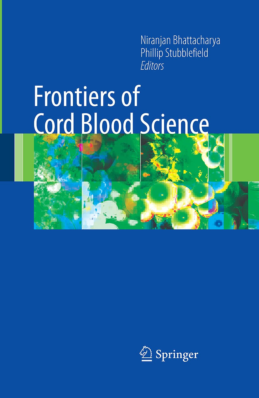 Portada del libro 9781848001664 Frontiers of Cord Blood Science