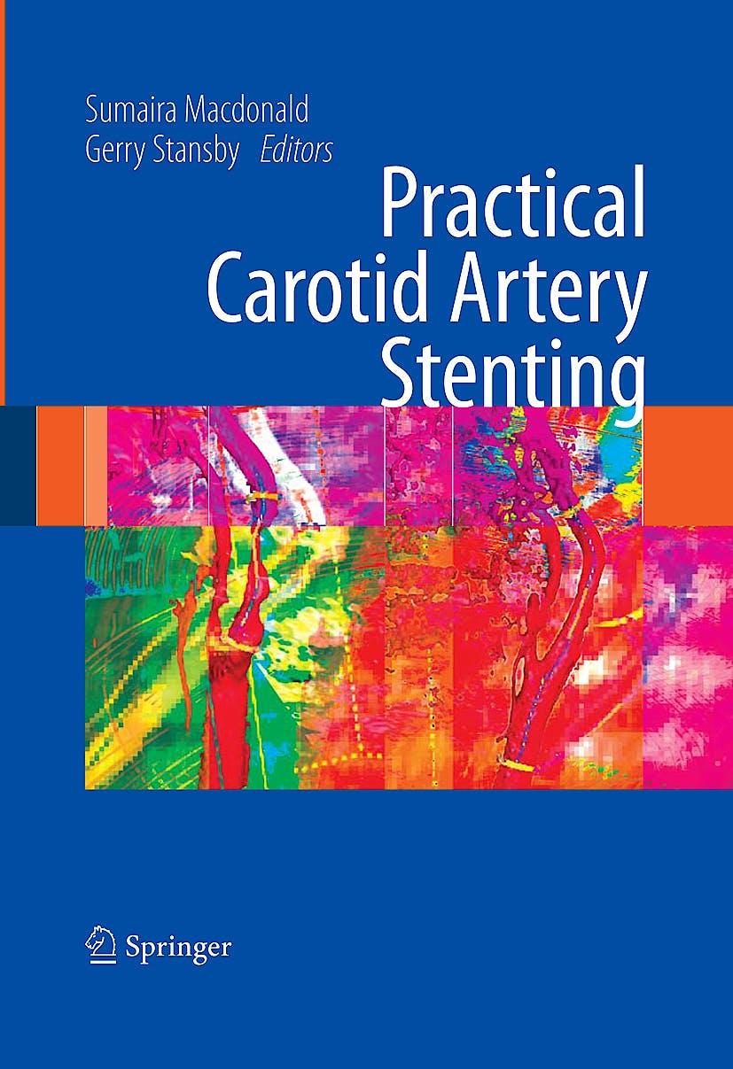 Portada del libro 9781848002982 Practical Carotid Artery Stenting