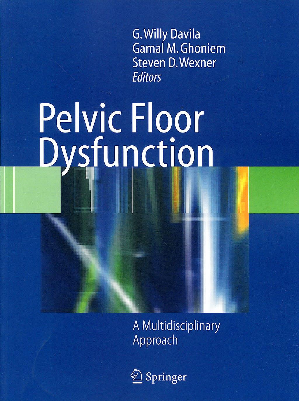 Portada del libro 9781848003477 Pelvic Floor Dysfunction. a Multidisciplinary Approach (Softcover)