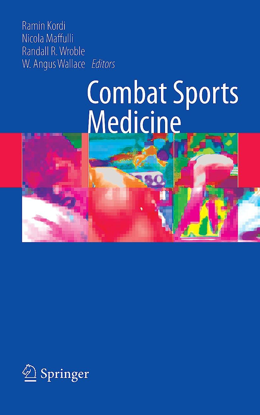 Portada del libro 9781848003538 Combat Sports Medicine