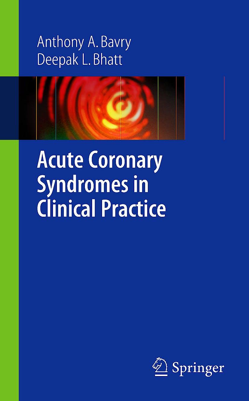 Portada del libro 9781848003576 Acute Coronary Syndromes in Clinical Practice