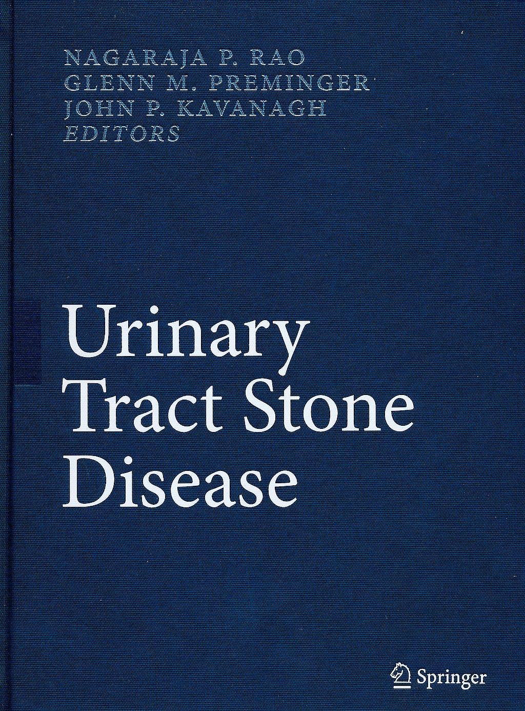Portada del libro 9781848003613 Urinary Tract Stone Disease